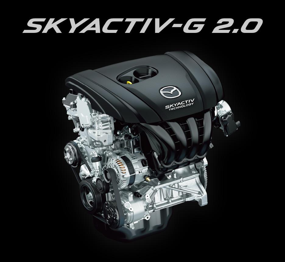 マツダCX-3のガソリンエンジン「SKYACTIV-G」