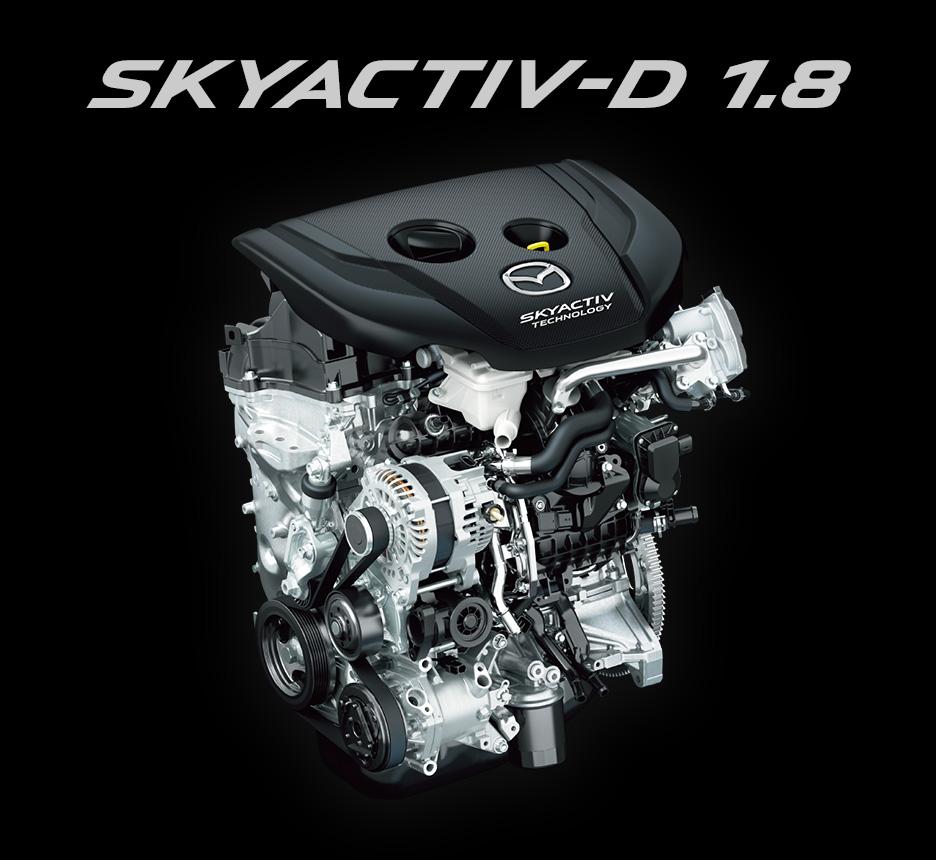 マツダCX-3搭載のディーゼルエンジン「SKYACTIV-D」