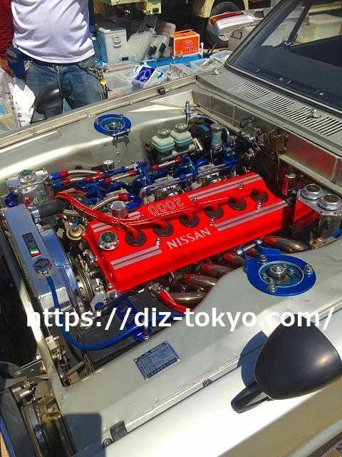 スカイラインGTR搭載のS20型エンジン