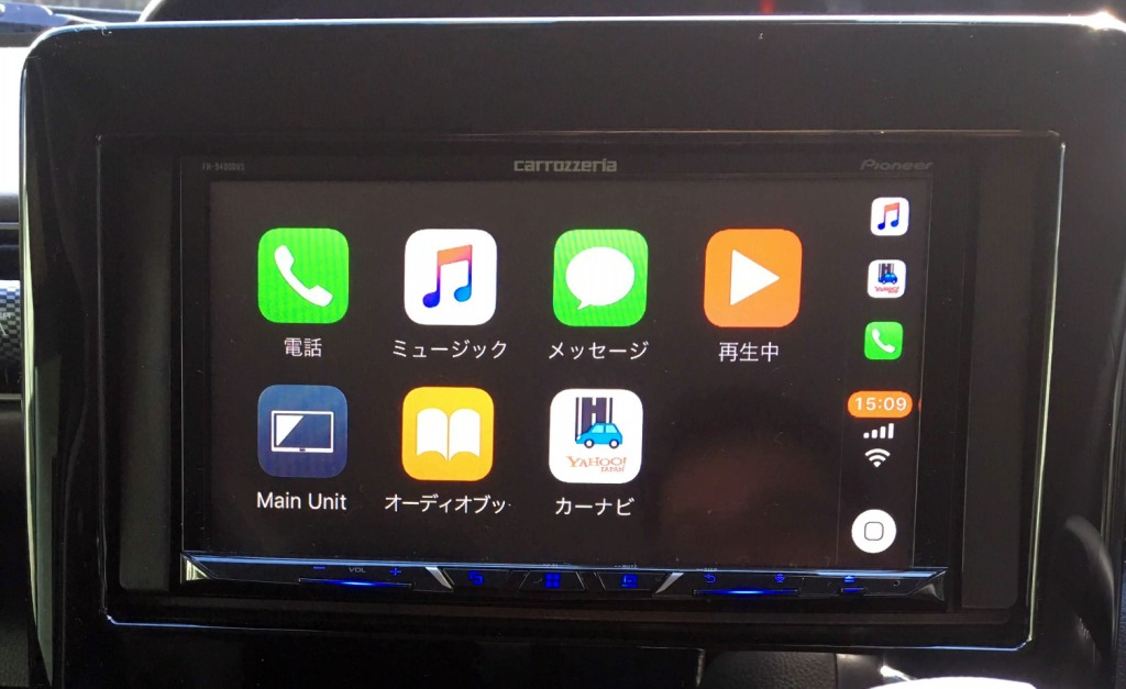 FH9400DVSのApple car play